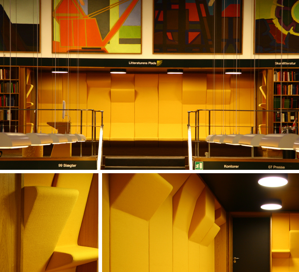 Wall and seat units library